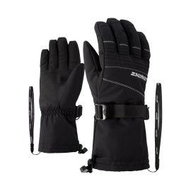Ziener, Gannik AS, rękawiczki, czarny