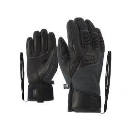 Ziener, Ganzenberg AS AW, rękawiczki, iron tec szary