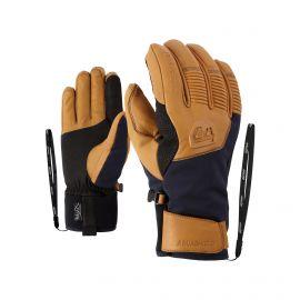 Ziener, Ganzenberg AS AW, rękawiczki, navy niebieski