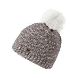 Ziener, Itrin, czapka, nougat beżowy