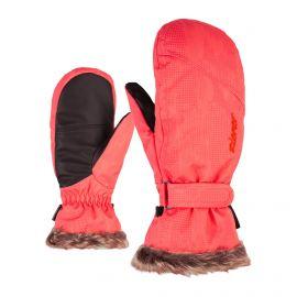 Ziener, Karine AS PR Lady, rękawiczki , kobiety, geo camo czerwony