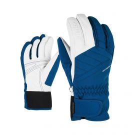 Ziener, Kasada AS Lady, rękawiczki, kobiety, nautic niebieski