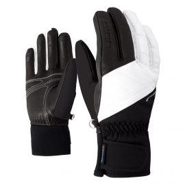 Ziener, Kasada AS Lady, rękawiczki, kobiety, biały/czarny