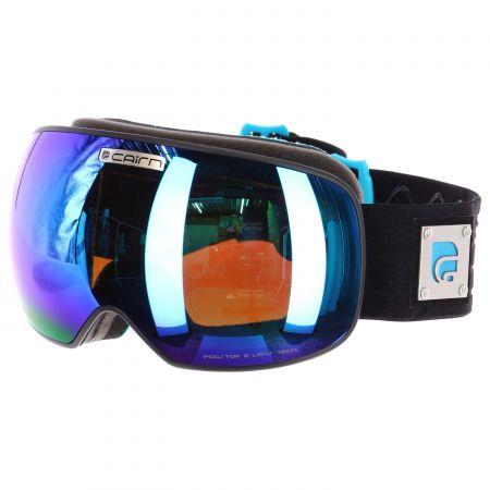 Cairn, Gravity, Gogle narciarskie z wymiennym wizjerem, czarno - niebieskie, mat