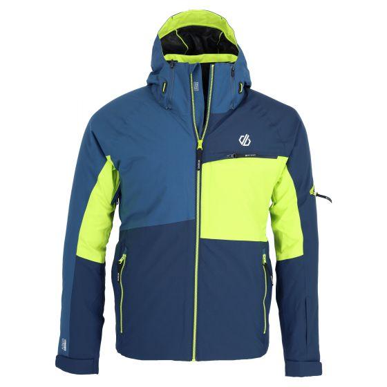 Dare2b, Supercell Jkt kurtka narciarska mężczyźni navy / lime punch niebieski/zielony