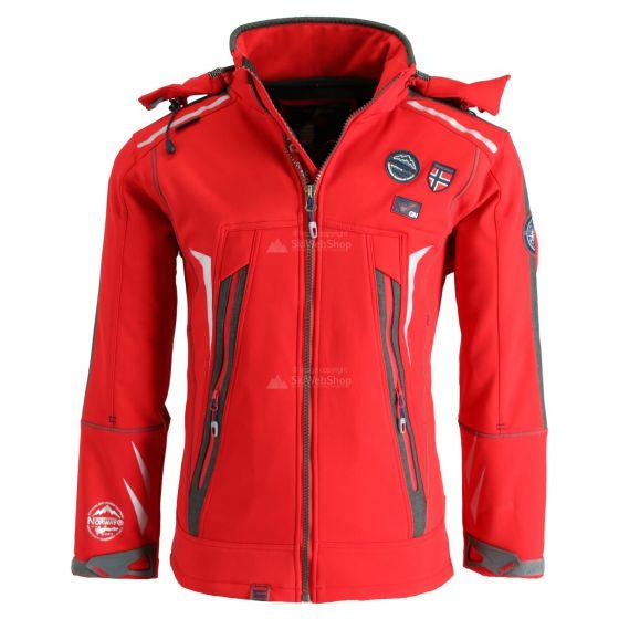 Geographical Norway, Tonic 007+RPT+BS2, kurtka softshell, mężczyźni, czerwona