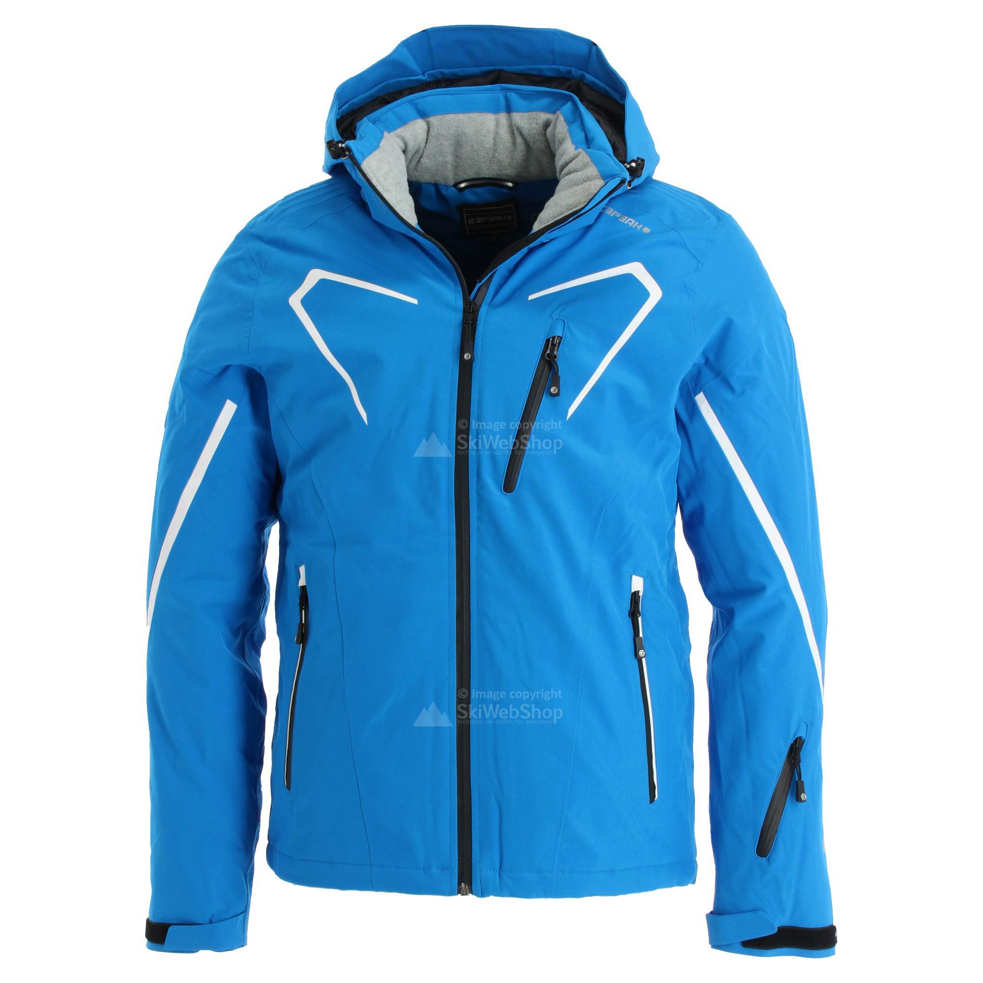 Icepeak, Nevin, kurtka narciarska, mężczyźni, niebieski